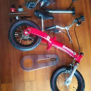【値下げ】《箱あり》へんしんバイク赤3歳~6歳用