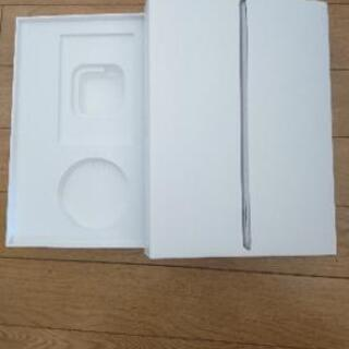 Apple iPad(6th Generation)の箱のみ