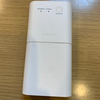 【商談中】BUFFALO 11n/g/b 300Mbps ポータ...