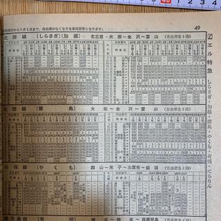 国鉄監修 交通公社の時刻表 1975年