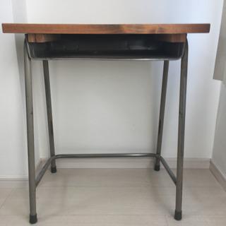 リメイク 小学校の机と椅子セット