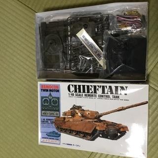 未組み立て 戦車 チーフテン リモコン