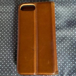 iPhone8 plus 本革携帯ケース