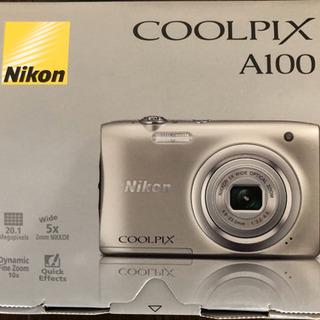 【新品・格安】COOLPIX A100 デジタルカメラ シルバー...