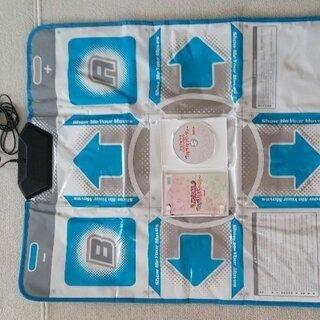 ニンテンドーwii用 DDRコントローラ ソフト付き