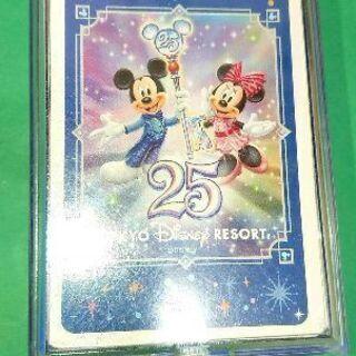 19・【決】中古 ディズニー25周年柄トランプ