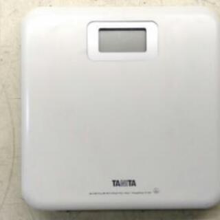 タニタ デジタル体重計 ヘルスメーター HD-661①