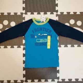 新品 長袖 新幹線Tシャツ ロンT 120cm