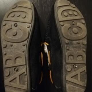ムートン スリッポン  - 靴/バッグ