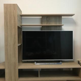 棚付きテレビボード