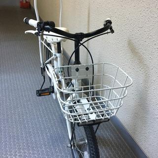 子供用自転車 BIKKE 16インチ 白