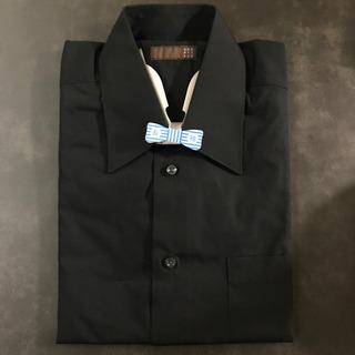 メンズ 黒カッターシャツ