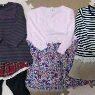 女の子用子供服 サイズ90 7枚セット
