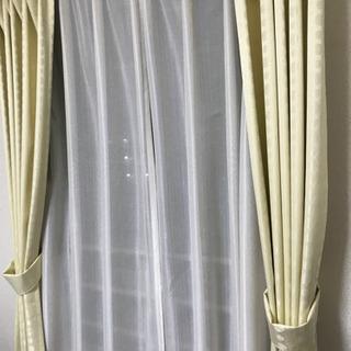 遮光カーテン、レースセット(条件あり)