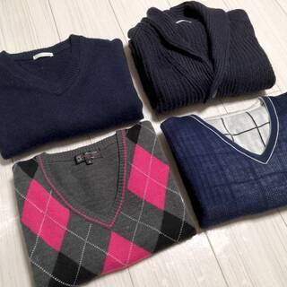 【セーター4枚セット】タケオキクチ&ミッシェルクラン&GU2枚