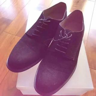 スエードチック靴