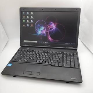 東芝  Celeron メモリ2GB HDD750GB ノートパソコン