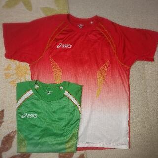 【再値下げ】☆asicsTシャツ2枚セット☆