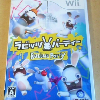 ☆Wii/Rabbids Party ラビッツ・パーティー◆ちょ...