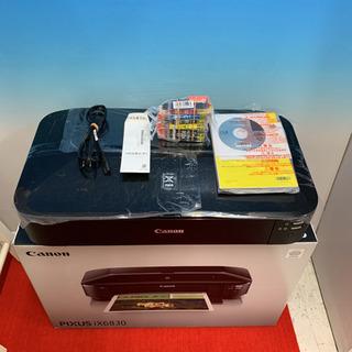 キャノン プリンターix6830 美品保証書、元箱、全て付き新品...