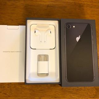 iPhone8 64GB スペースグレー新品未使用