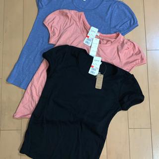 (未使用)Lサイズ レディースTシャツ 色違い3枚セット【300円】