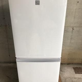 シャープ 冷蔵庫 SJ-14E5 2017年製