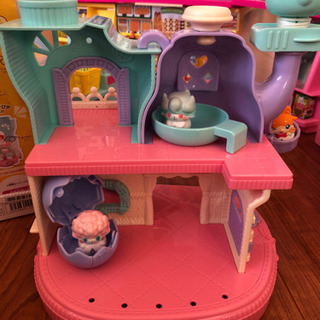 ヒミツのここたま すてきなティーポットのおうち 女の子おもちゃ
