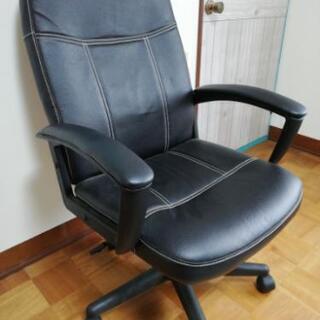 椅子 牛革!ワークチェア ヒューソンM2