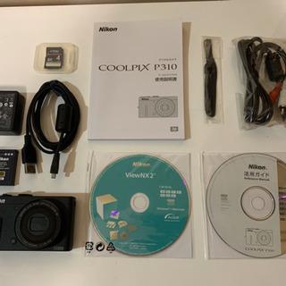デジタルカメラ Nikon COOLPIX P310 4G…