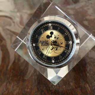 ディズニーの置き時計