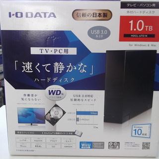 ID:G905410 外付ハードディスク(1TB)IODATA製