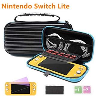 任天堂 Switch Lite専用保護ケース 耐衝撃 保護フィルム付き