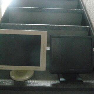 パソコン用モニター2台セット ジャンク