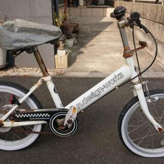 a.n.design-works 16インチ 子供用自転車