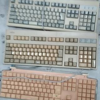 中古パソコンキーボード2台セット