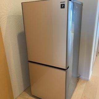 冷蔵庫(一人暮らし用、両開き)売ります