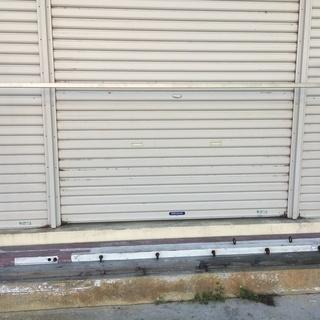特注ステンレス製ハンガーラック(230cm×115cm)(店舗用)
