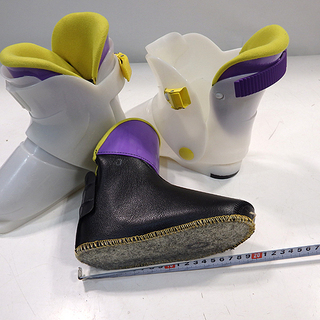 現状★ASTRO KIDS/アストロキッズ★スキー靴★約17.5...