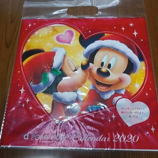 【新品・非売品】ドコモ ディズニー カレンダー 壁掛け