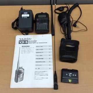 無線機 YAESU ヤエス VX-5 50/144/430MHz...