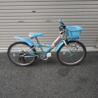 ブリジストン22インチ自転車 子供用女の子