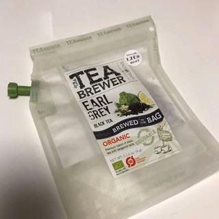 tea brewer アールグレイ  原材料 有機ブラックティー...