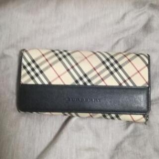 【値下げ】BURBERRY バーバリー 長財布