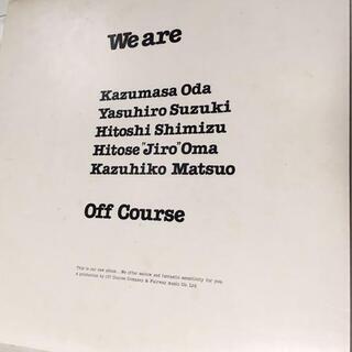 LPレコード オフコース 「We are」