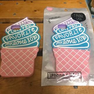 アイスクリームiPhoneケース2つセット