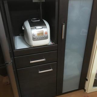 レンジ台 食器棚 レンジラック