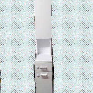 ニトリ 細い棚 の画像