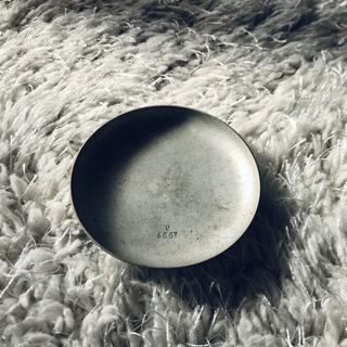 アンティーク 骨董屋 好きに◎ 小物置き 京都 スチール皿 皿 小皿
