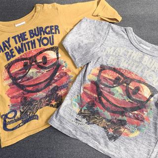 BREEZE  ハンバーガーイラスト Tシャツ   (2セ…